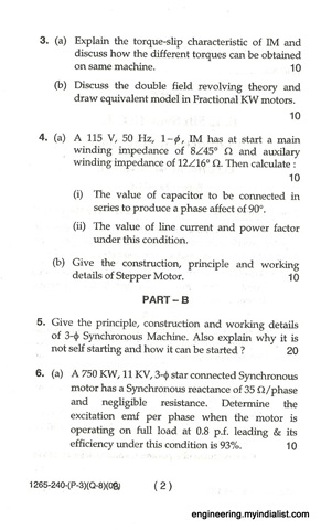 Home » Electronics Engineering Previous Years Question Papers Btech