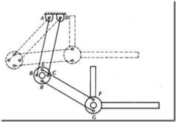 Line Diagram of a Drafter