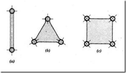 Binary, Ternary and Quaternary Links
